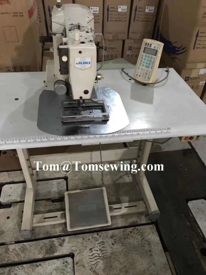 juki shape tacking machine